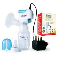 Premium Battery Operated Breast Pump With Adapter (PPBBP-06)