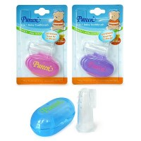 Silicone Baby Toothbrush & Gum Massager w/Case (NS G03)