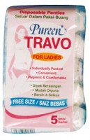 Travo Disposable Ladies Panties